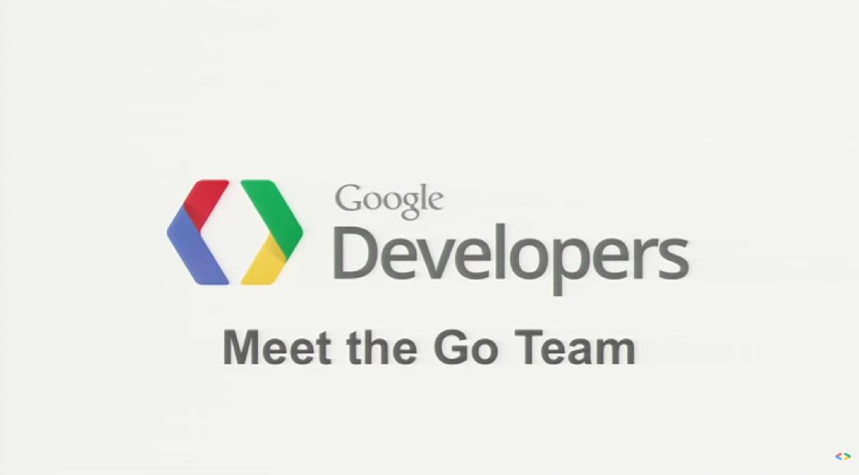 구글의 Go