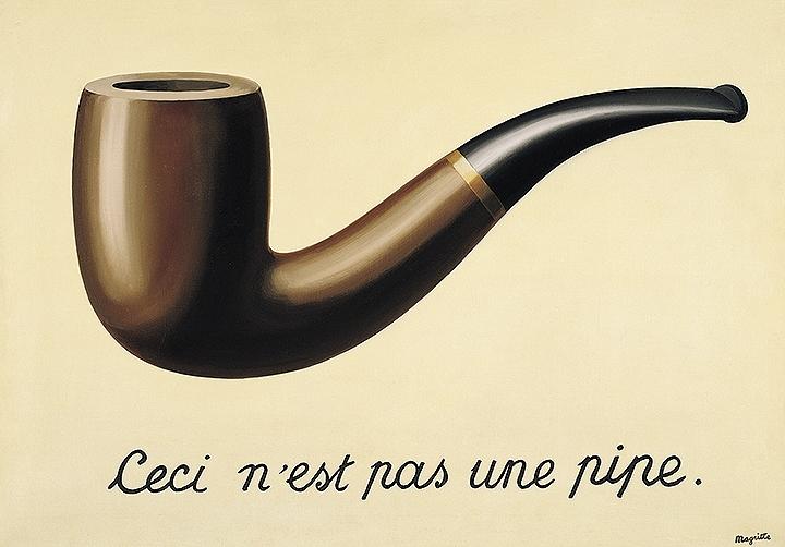 르네 마그리트 - '이것은 파이프가 아닙니다'