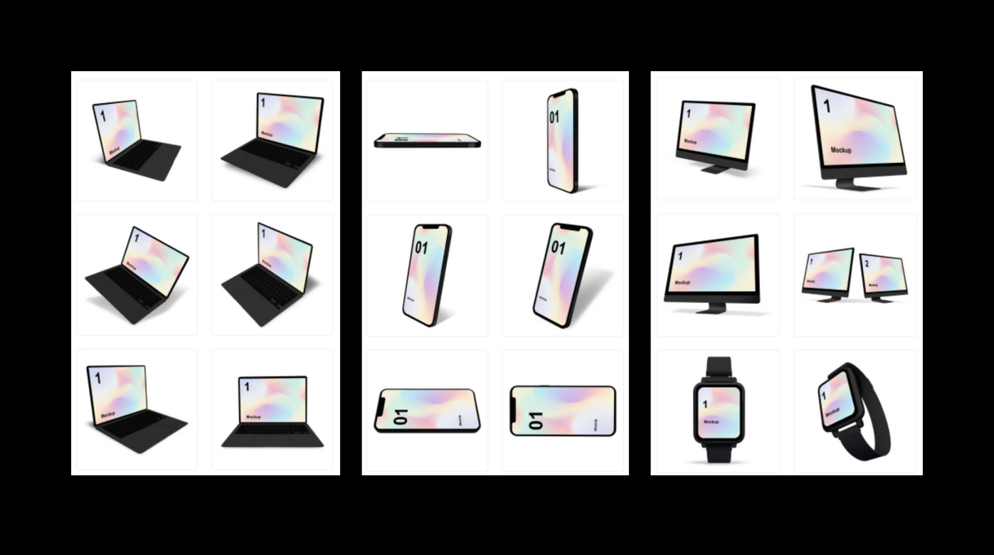 목업 서비스 Pixeltrue