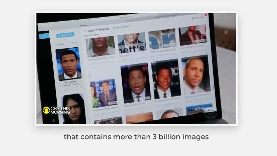 30억 개가 넘는 이미지를 보유한 Clearview AI