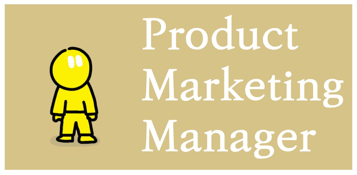 프로덕트 마케팅 매니저(Product Marketing Manager)